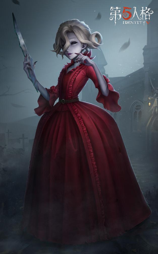 命运随风而逝 《第五人格》红夫人演绎之星时装-斯嘉丽即将登场